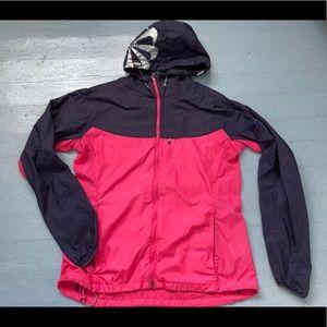 Nike women's running jacket with mesh back panel